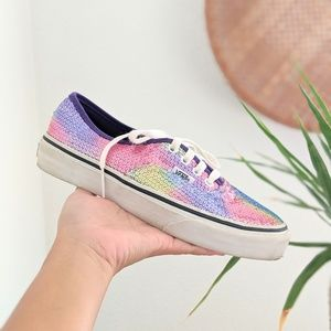 Vans Rainbow Sparkle Sneakers